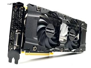 Dual Slot、雙風扇設計 Inno3D GeForce GTX 1070 Ti X2