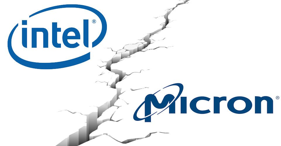 Intel Micron Discontinue