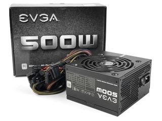 80Plus、40A 12V單路 EVGA 500 W1 電源供應器