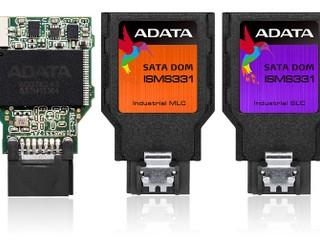 體積小巧 可達 300MB/s 讀取速度 ADATA 推出工業級 SATA DOM ISMS331