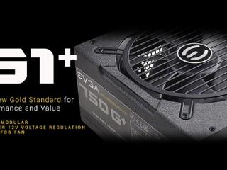 全模組化設計、獲 80+ Gold 金牌認證 EVGA 推出全新 G1+ 系列電源供應器