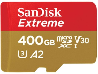 400GB 容量、讀寫速度達 160MB/s SanDisk Extreme UHS-I microSDXC 卡