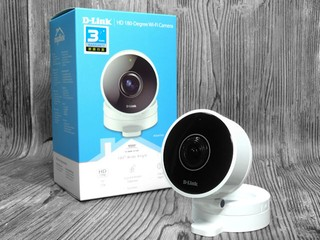 180° 超廣角鏡頭、支援 720p 拍攝 D-LINK DCS-8100LH 無線網路攝影機
