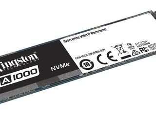讀寫速度高達 1500MB/s、1000MB/s Kingston 入門級 A1000 PCIe NVMe SSD