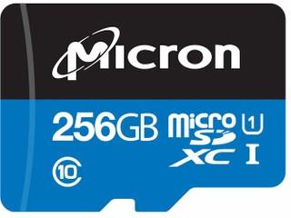 提供可靠、穩定的 24x7 連續記錄能力 Micron 推出工業級 MicroSDXC 卡