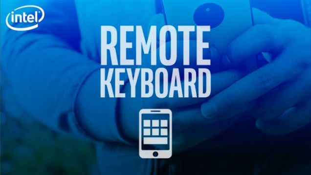 Intel Remote Keyboard App