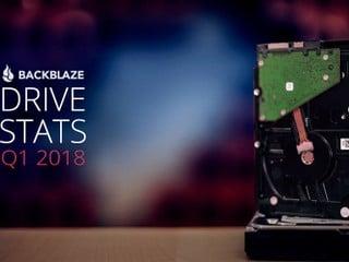 2018 年第一季械硬盤故障率報告 HGST 及 Toshiba 硬盤最可靠性