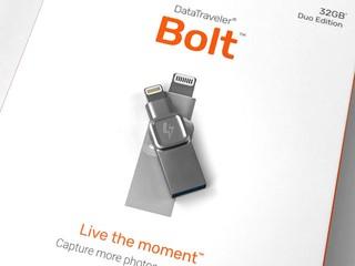 iPhone/iPad/PC 隨身碟 Kingston DataTraveler Bolt Duo
