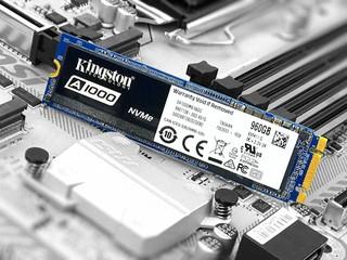 支援NVMe、入門級SSD Kingston A1000 960GB M.2 SSD