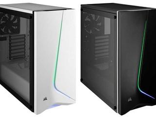 鋼化玻璃側面板、出色曲線 RGB 更奪目 CORSAIR 全新 Carbide Series SPEC-06 機箱