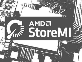 StoreMI好用嗎?  AMD StoreMI 磁碟加速測試