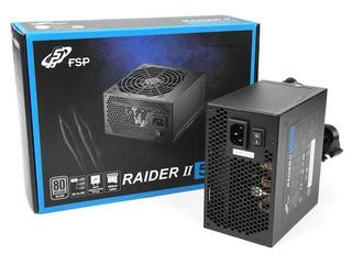 以「銀」制「銅」 !! FSP RAIDER II 550W 電源供應器