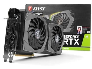 TWIN FROZR  7 散熱設計 MSI GeForce RTX 2070 Gaming Z