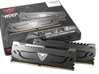 完全性能先決 !! PATRIOT VIPER STEEL DDR4-4400 記憶體