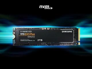 【非凡升級!!寫入速度比 970 Evo 提高 53%】 Samsung 發佈全新 970 EVO Plus SSD