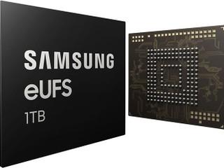 【儲存空間大升級!!】1TB 容量手機要來了 Samsung 量產 1TB eUFS 2.1 晶片