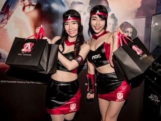 AOC x《銃夢:戰鬥天使》新品發佈會  Agon III 曲面平面新品各有「出色」