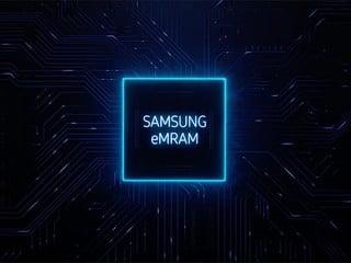 【寫入速度提升 1000 倍?!可擦寫 1 億次!!】 傳 Samsung eMRAM 記憶體良率已達 90%