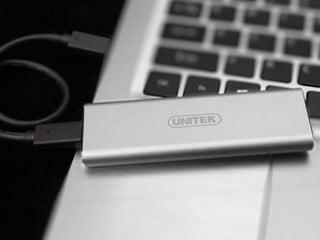 10Gbps Gen 2 極速讀寫 UNITEK S1201A M.2 to USB-C 外置硬碟盒