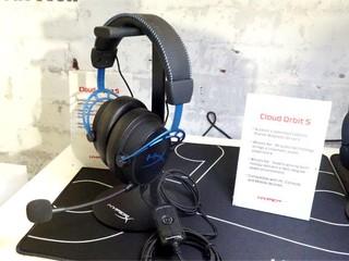 全新 HyperX Alloy Origins 電競鍵盤 頭部追蹤 HyperX Cloud OrbitS 耳機