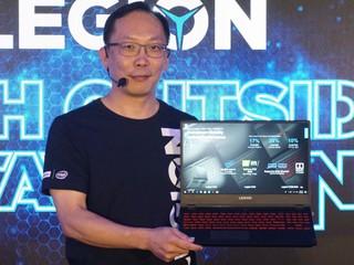 Lenovo 進軍電競筆電市場 LEGION 系列電競性能 UP !!
