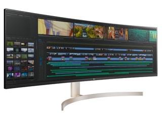 32 : 9、突破多工作業界限 LG 49WL95C 49 吋 Dual QHD 曲面顯示器