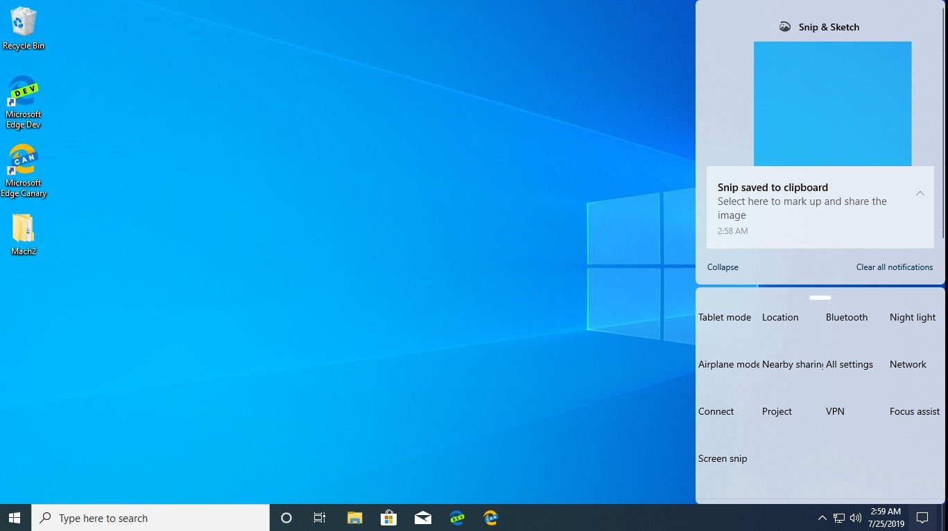 Windows 10 build 18947