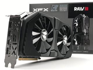 非公版登場、散熱再強化 XFX Radeon RX 5700 XT RAWII 繪圖卡