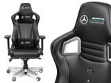 與 Mercedes-Benz 聯手設計 noblechairs EPIC Mercedes-AMG 電競椅
