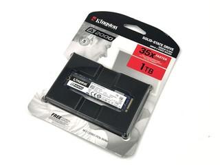 大牌子、五年保用 KINGSTON A2000 NVMe M.2  1TB SSD