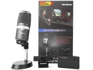如何成為 Youtuber?? AVerMedia Live Streamer BO311 直播組合包