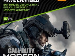 【INNO3D 送 GAME 優惠消息】 買 RTX 新卡送 Call of Duty: Modern Warfare