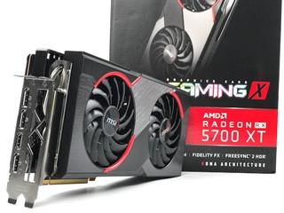 頂配 TWIN FROZR 7 散熱器 MSI Radeon RX 5700 XT Gaming X 繪圖卡
