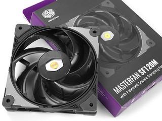 工業級、環形密封外圈 Cooler Master MasterFan SF120M 散熱風扇