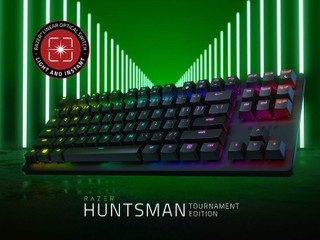 【Razer 線性光軸,勁速表現毋庸置疑!!】 Razer Huntsman Tournament Edition 登場