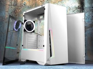白色主題、 ARGB 燈效 ANTEC DP501 White Mid-Tower 白色限定版