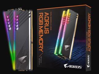 【Z390、X570 獨有!!】可加速到 3733MHz 第二代 AORUS RGB DDR4-3600 記憶體登場