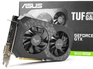 增至 1,280 Cores、升級 GDDR6  ASUS TUF Gaming GeForce GTX 1650 SUPER