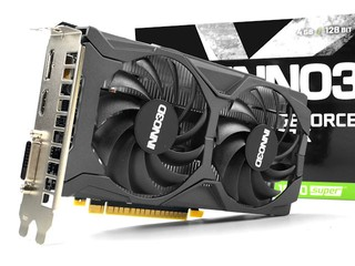 升級 TU116-250、GDDR6 Inno3D GeForce GTX 1650 SUPER Twin X2