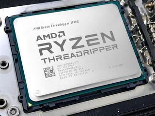 7nm、32 核心 !! 144MB Cache AMD Ryzen Threadripper 3970X 處理器登場