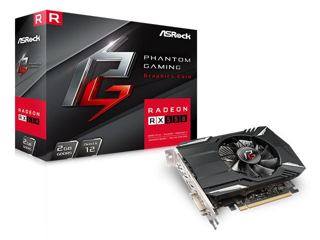 Phantom Gaming Radeon 550 2G