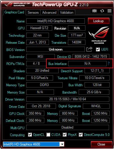 HD Graphics