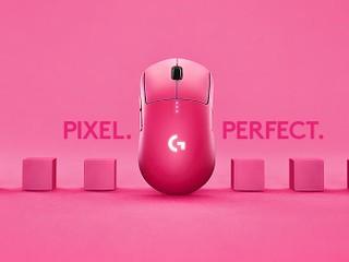 【粉紅色好吸睛!!一上架即被搶購一空】 Logitech 粉紅限量版 G PRO Wireless 滑鼠