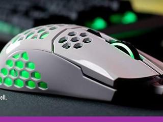 【新增 RGB 燈效!!】繼續輕量化只係重 60g CM 升級版 MM711 RGB 滑鼠快將上市