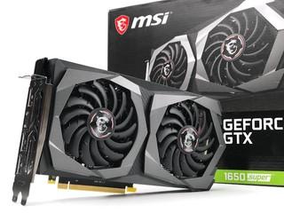 升級 TU116-250、GDDR6 !! MSI GeForce GTX 1650 SUPER Gaming X