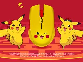 【賣 499 人仔!!】最高 7200DPI、350 小時續航力 Razer x Pokémon 限定版無線滑鼠
