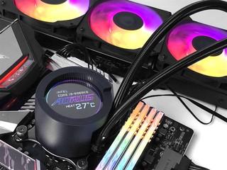 6cm 圓形 LCD、ARGB 風扇 GIGABYTE AORUS Liquid Cooler  AIO 水冷