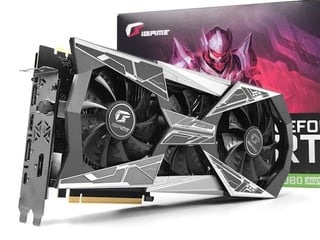 Vapor 散熱技術、 LCD 狀態顯示 Colorful iGame GeForce RTX 2080 Super Vulcan X