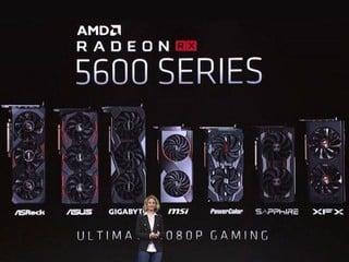 【CES 2020】279 美元強攻中階遊戲市場!! AMD 發佈 Radeon RX 5600 XT 繪圖卡