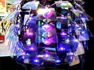 【CES 2020】顛覆傳統!! 裝上 80 塊有機玻璃 InWin 展示第十代概念機箱「蝶 Diéy」